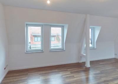 Küche / Wohnen im Dachgeschoss